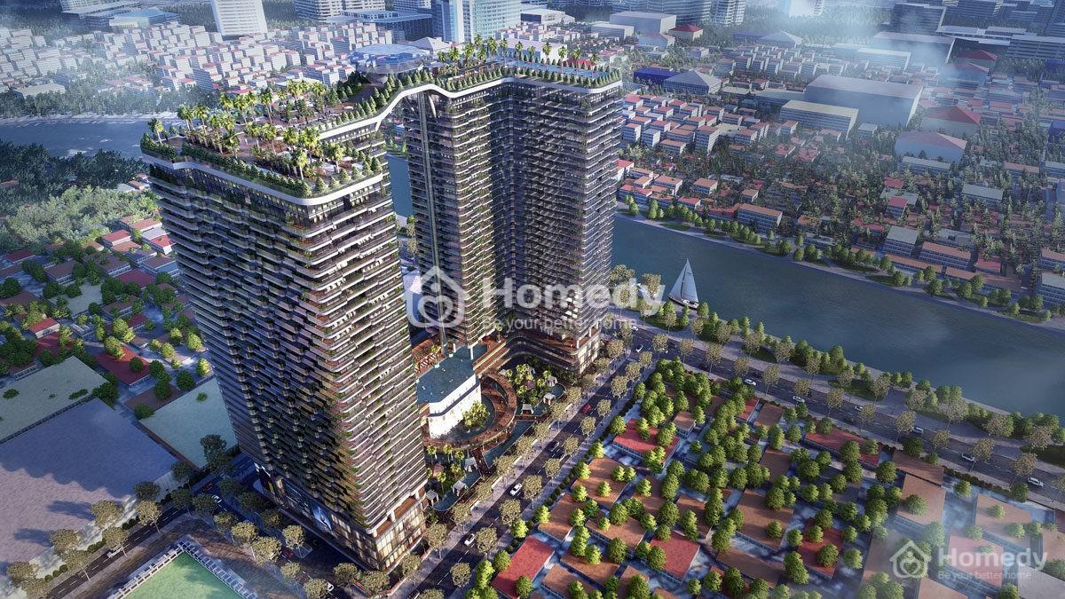 Sunshine Horizon là dự án căn hộ hạng sang hiếm hoi nằm ở vị trí đắc địa trên tuyến đường Tôn Thất Thuyết, Quận 4.