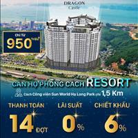 Bán căn hộ thành phố Hạ Long - Quảng Ninh giá 900 triệu