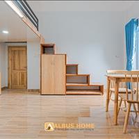 Căn hộ có gác rộng cao 1,6m, có nội thất Thoại Ngọc Hầu cửa sổ lớn, ban công gần Big C Lũy Bán Bích
