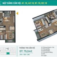 Chỉ với 450 triệu sở hữu căn hộ 79m2 ngay đường Giải Phóng - Phương Đông Green Park