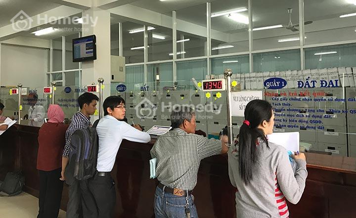 Văn phòng đăng ký đất đai TpHCM