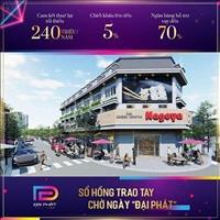 Nhà phố thương mại đầu tiên tại Tân Uyên, 2 lầu kiểu châu Âu, mặt tiền 32m, 158m2, giá tốt đầu tư
