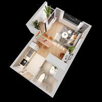 Bán căn hộ Studio đẹp nhất Imperia Smart City quận Nam Từ Liêm - Hà Nội giá 1.17 tỷ