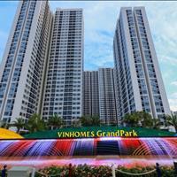 Bán gấp căn 2 phòng ngủ - 1WC diện tích 61.5m2 lớn nhất và rẻ nhất Vinhomes Grand Park Quận 9