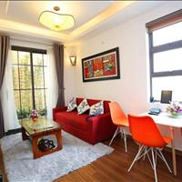 Cho thuê căn hộ dịch vụ 48/12 phố Đào Tấn có ban công giá 10 triệu/tháng, gần Lotte