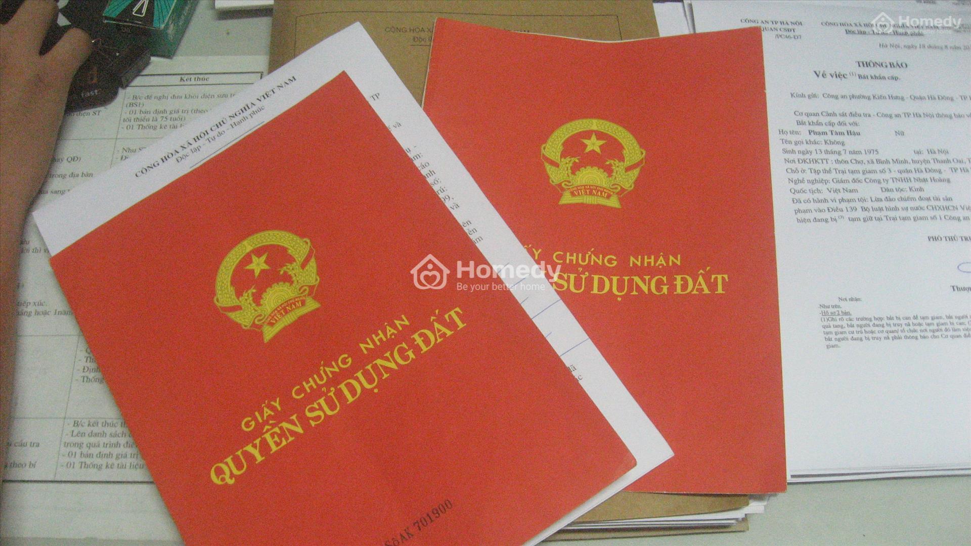 Thủ tục đăng ký chuyển đổi mục đích sử dụng đất HNK