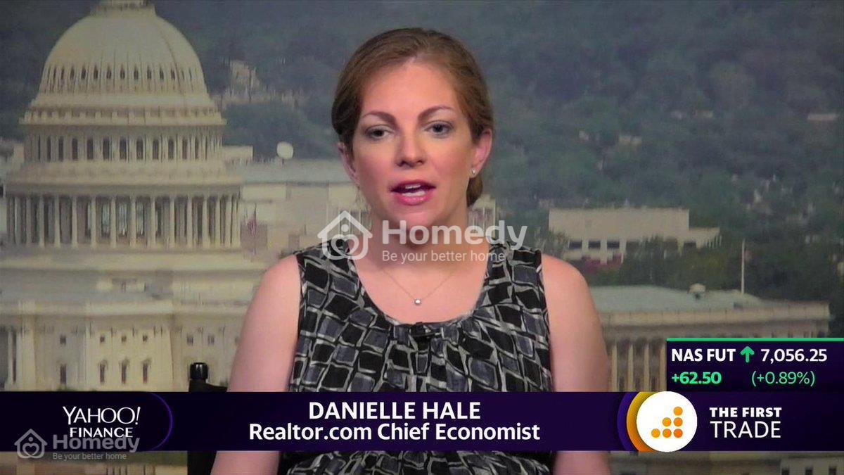 Bà Hale cho rằng nhu cầu của người mua giảm sút cho tình trạng thất nghiệp