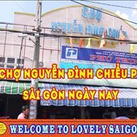 Cho thuê sạp bán hàng chợ Nguyễn Đình Chiểu, Quận Phú Nhuận