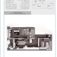 Chính chủ bán nhanh căn hộ 2 phòng ngủ 2wc - 12A08 tòa tháp mặt đường Quang Trung Hà Đông