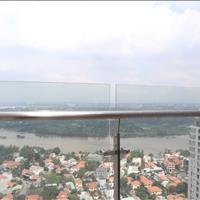 Bán căn hộ penthouse Masteri Thảo Điền quận 2, 324m2, nhà thô, view sông tuyệt đẹp, giá tốt 25 tỷ