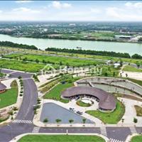 Hot - Sở hữu đất nền sổ đỏ giá tốt chỉ 13,8tr/m2, 2 mặt tiền view sông, ngay trung tâm TT