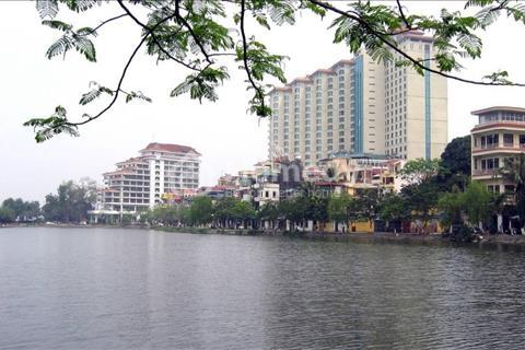 Mặt phố Trúc Bạch, Ba Đình - Đoạn đẹp nhất phố, view hồ - 75m2, 2 tầng, mặt tiền 4.3m - Giá 24 tỷ