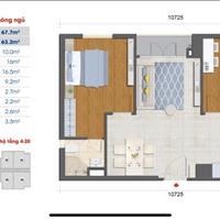 Do kẹt vốn cần sang nhượng căn góc 2 phòng ngủ, 67,7m2 dự án West Intela, quận 8