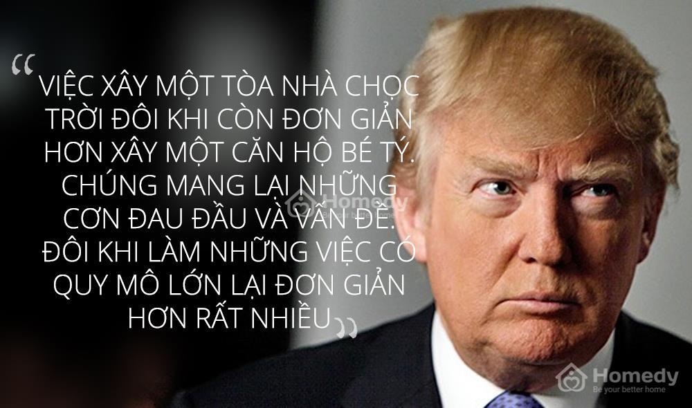 """Donald Trump được thế giới biết tới là """"ông trùm của các ông trùm trong ngành địa ốc"""