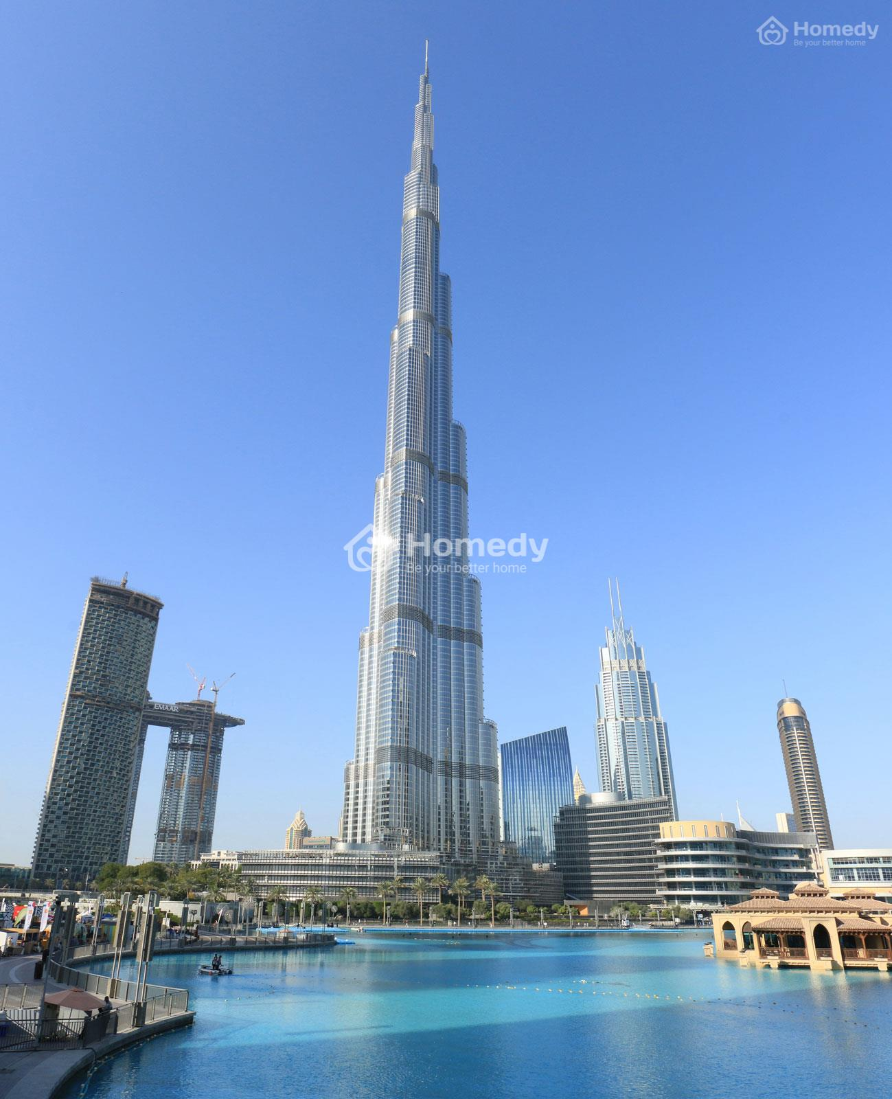 Tòa tháp Burj Khalifa, Dubai