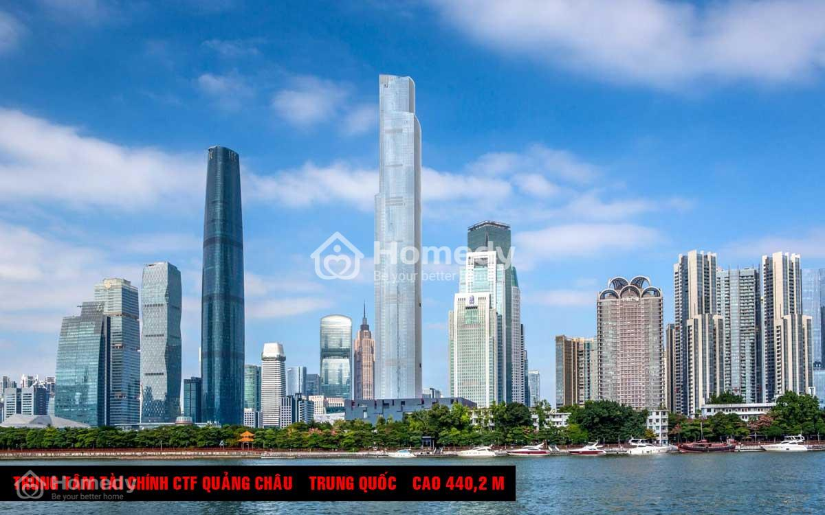 Trung tâm Tài chính CTF Quảng Châu, Trung Quốc