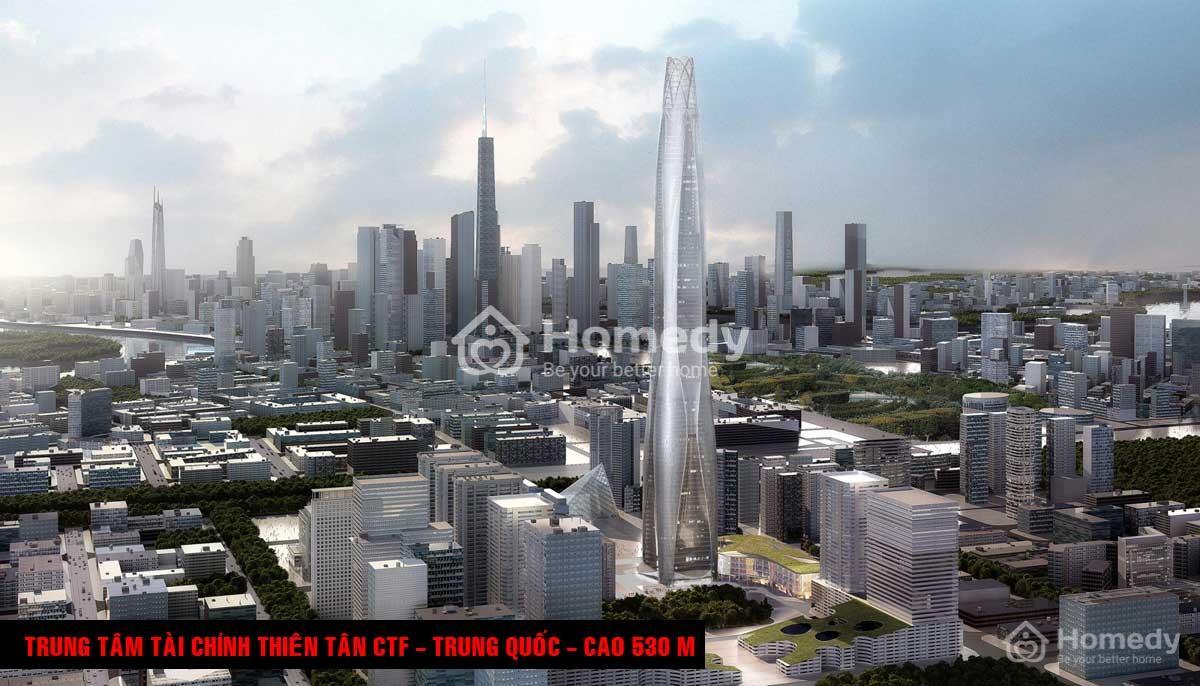 Trung tâm Tài chính Thiên Tân CTF, Trung Quốc