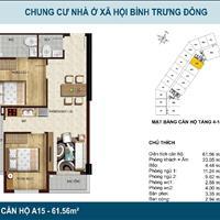 Bán căn hộ Quận 2 - TP Hồ Chí Minh giá 1.66 tỷ có 2 phòng ngủ, 2WC, có ban công