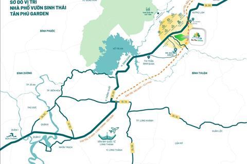 Khu dân cư sinh thái Tân Phú Garden - Nâng tầm đẳng cấp chỉ từ 6,5 triệu/m2