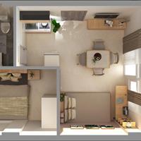 Cho thuê căn hộ full nội thất 2 phòng ngủ ngay Cộng Hoà Tân Bình