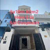 Nhà ngộp 80m2 (5x16m) nhà 2 lầu, hẻm ô tô sát bên Coopmart Bình Triệu - Cách Phạm Văn Đồng 500m