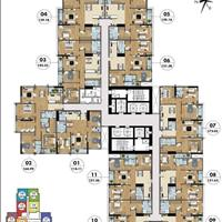 Bán căn hộ 4 phòng ngủ - 169m2, Goldmark City, trả trước 30% nhận nhà, 70% trả chậm 3 năm miễn lãi