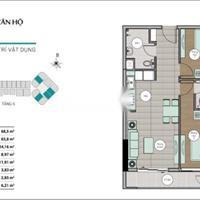 Bán căn hộ Centum Wealth Quận 9, 68.5m2, 2 phòng ngủ, 2WC