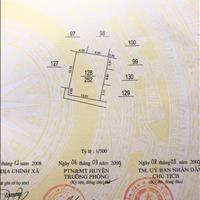 Tôi bán ô đất thổ cư 42,5m2, 2 mặt thoáng tại yên Lũng An Khánh, Hoài Đức