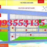 Bán đất sổ đỏ thổ cư mặt tiền 44A thành phố Bà Rịa lô 120m2 giá 1.1 tỷ thổ cư 100m2