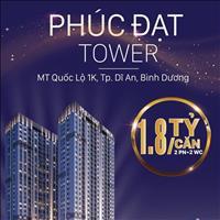 Chỉ với 180 triệu sở hữu ngay căn hộ (2PN, 2wc) - mặt tiền QL 1K trung tâm Dĩ An, đã có GP xây dựng