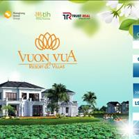 Vườn Vua Resort & Villas chỉ từ 11tr/m2 - Biệt thự full nội thất 5 sao - Khai thác luôn LN từ 12%