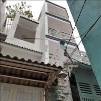 Bán nhà mới xây 4 tầng hẻm 231 Dương Bá Trạc, Phường 1, Quận 8