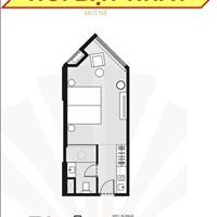 Tầng 4-24 căn 1 phòng ngủ 32m2- 950 triệu, trả 1%/tháng, tặng 150 đêm nghỉ dưỡng, cam kết 12%/năm
