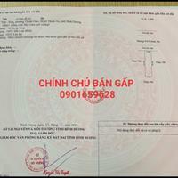 Bán gấp miếng đất khu dân cư Việt Sing mặt tiền đường nhựa 8m