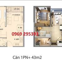 Căn hộ 1 phòng ngủ + 1 giá rẻ nhất Vinhomes Ocean Park, thanh toán sớm chỉ còn 1,236 tỷ