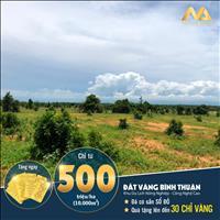 Bán lô đất vườn Bình Thuận giá 50 nghìn/m2, sổ cầm tay, đón đầu cao tốc và sân bay Phan Thiết