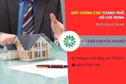 Thông tin, chính chủ khu vực TP HCM gửi bán đất nền và dãy trọ Quận Bình Tân
