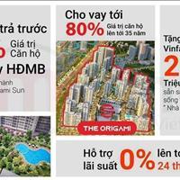Sở hữu căn hộ Origami Vinhomes Grand Park chỉ với 15%