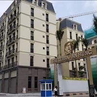 Cho thuê căn Shophouse góc 140m2 mặt đường Tố Hữu 6 tầng, 1 lửng cổng dự án Terra An Hưng