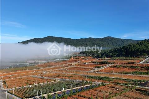 Bán gấp lô góc view hồ, sân vận động giá bao rẻ 12,5 triệu/m2 dự án Langbiang Town