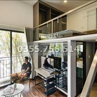 (Chính chủ) cho thuê căn hộ dịch vụ gác lửng đẹp, ban công lớn gần Thảo Cầm Viên Q1- Hình thật 100%