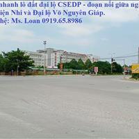 Bán đất mặt bằng đường Csedp bên cạnh đại họcVăn Hóa Thể Thao Và Du Lịch, đường đôi 39m