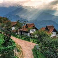Không có thời gian chăm sóc bán lại mảnh vườn giáp suối tự nhiên, có sẵn mít, bơ và cafe, view đồi