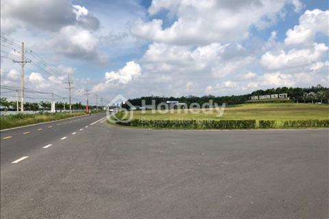 Kẹt tiền bán lô đất 95m2 ở Nhơn Trạch đối diện cây xăng Tín Nghĩa, Swan Park