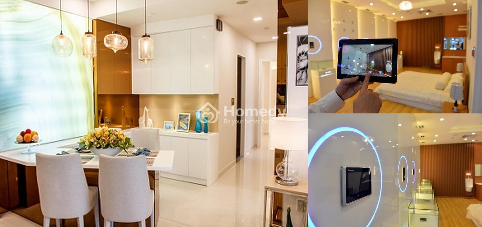 Giải pháp thông minh giúp tiết kiệm năng lượng, giảm chi phí điện cho căn nhà.