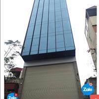 Bán toà nhà xây mới mặt phố Nguyễn Khang 8 tầng nổi, 1 tầng hầm.
