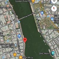 Bán lô đất vàng 170m2 - Mặt tiền đường Bạch Đằng, giữa Cầu Rồng và cầu Sông Hàn