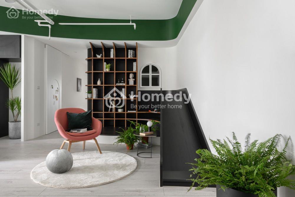 Thiết kế căn hộ chung cư nhỏ tạo cảm giác như ở một quán cà phê