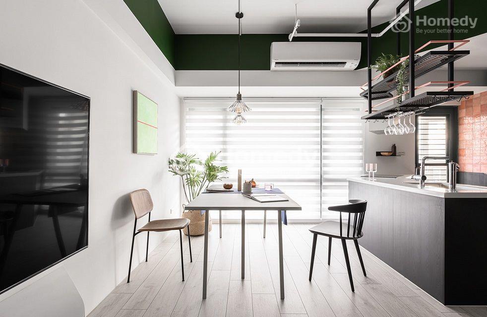 Một góc nhìn yên bình khác ở mẫu căn hộ chung cư hiện đại