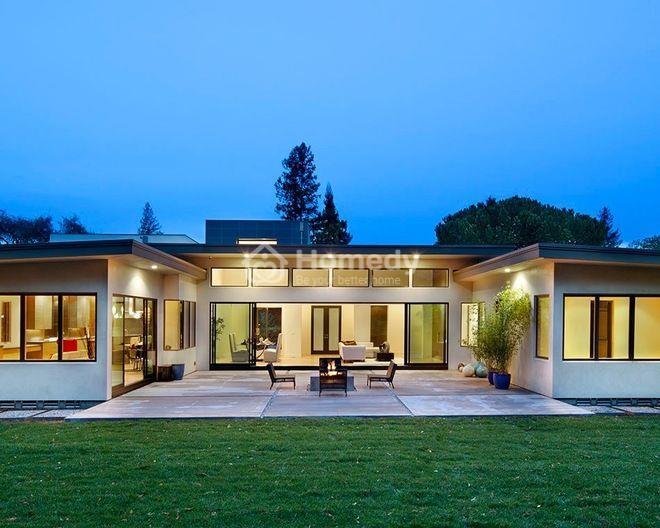 Mẫu nhà này phù hợp với những mảnh đất có diện tích rộng